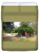 At The Park Duvet Cover