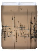 At The Pond Duvet Cover