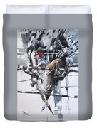 At The Races 5 Duvet Cover