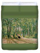 At The Summer Cottage Duvet Cover