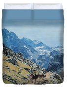 At The Summit Duvet Cover