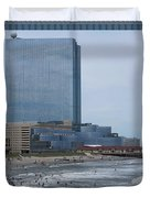 Atalantic America Board Walk And Architecture July 2015 Photography By Navinjoshi At Fineartamerica. Duvet Cover