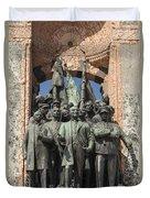 Ataturk Statue Duvet Cover