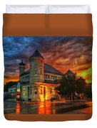 Atchison Post Office  Duvet Cover