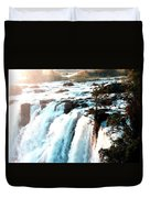 Waterfall Scene For Mia Parker - Sutcliffe L A S Duvet Cover