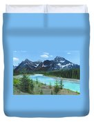 Athabasca River Duvet Cover