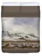 Atigun Pass Brooks Range Alaska Duvet Cover