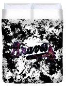 Atlanta Braves 1b Duvet Cover