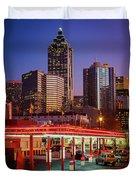 Atlanta Drive-in Duvet Cover