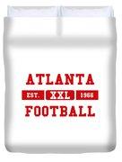 Atlanta Falcons Retro Shirt 2 Duvet Cover
