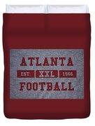 Atlanta Falcons Retro Shirt Duvet Cover