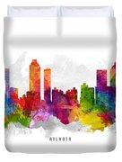 Atlanta Georgia Cityscape 13 Duvet Cover