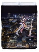 Atlanta Georgia - Evening Commute Duvet Cover