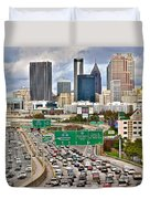 Atlanta Georgia Thrives Duvet Cover