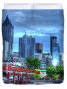 Atlanta Landmark The Varsity Art Duvet Cover