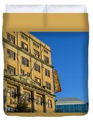 Atlanta Life Sign In Birmingham Alabama Duvet Cover