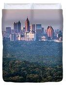 Atlanta Skyline Duvet Cover