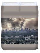 Atlanta Skyline Panoramic Duvet Cover