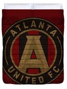 Atlanta United Barn Door Duvet Cover