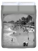 Atlantic City, 1920s Duvet Cover