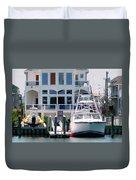 Atlantic City Series -13 Duvet Cover