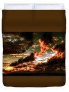 Atlantic Ocean Sunset-1 Duvet Cover