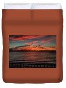 Atlantic Sunrise Duvet Cover