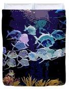 Atlantis Aquarium Duvet Cover