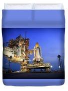 Atlantis At Sunset Duvet Cover