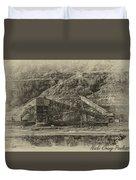 Atlas Coal Mine Duvet Cover
