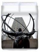 Atlas New York City Duvet Cover