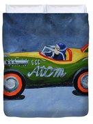Atom Racer  Duvet Cover