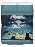 Atomic Duvet Cover