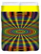 Atomic Rainbow Duvet Cover