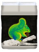 Atomic Squirrel Duvet Cover