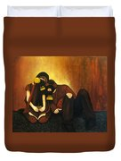 Atomization Of Society Duvet Cover