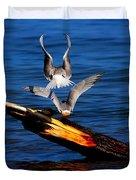 Atop A Tern Duvet Cover