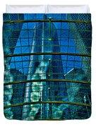 Atrium Gm Building Detroit Duvet Cover