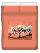 Atumn Trees Duvet Cover