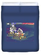 Atv Racing Duvet Cover
