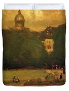 Au Jardin Du Luxembourg 1899 Duvet Cover