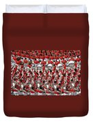 Auburn College Band Duvet Cover