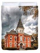 Auburn University - Hargis Hall Duvet Cover