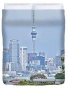 Auckland City C B D Duvet Cover