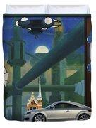 Audi Gaudi - The Retro Of The Future Duvet Cover
