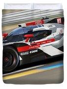 Audi R18 E-tron, Le Mans - 11 Duvet Cover