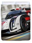 Audi R18 E-tron, Le Mans - 12 Duvet Cover