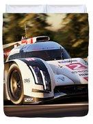 Audi R18 E-tron, Le Mans - 19 Duvet Cover