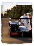 Audi R18 E-tron, Le Mans - 25 Duvet Cover