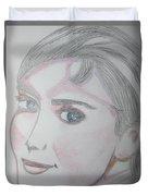 Audrey Hepburn Series 5c Duvet Cover